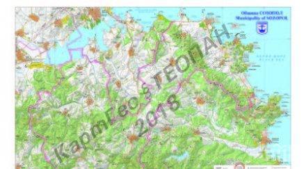Представят Созопол с карта в Япония