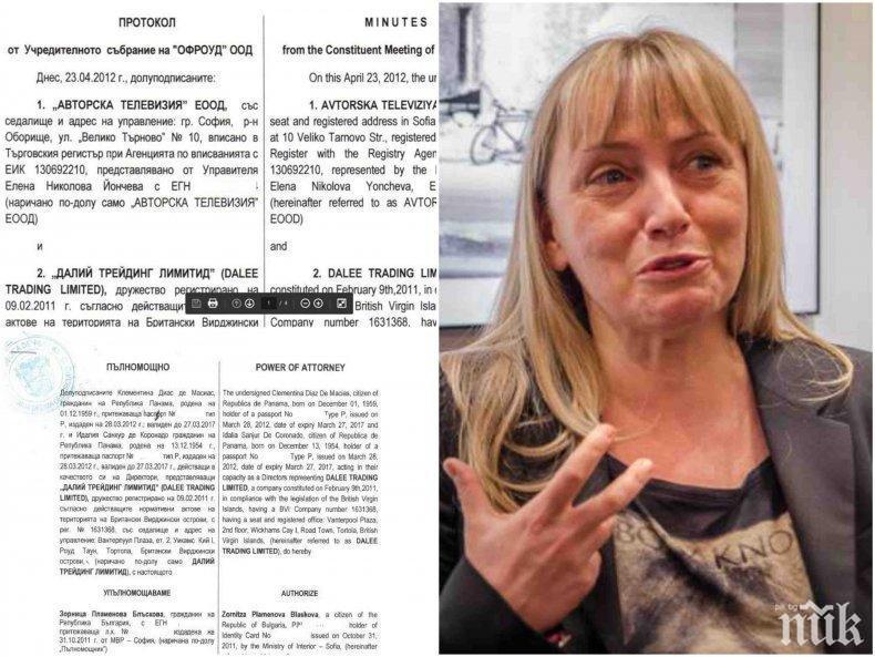 БОМБА В ПИК: Лъснаха доказателствата срещу Елена Йончева за пране на пари от КТБ през офшорка (ДОКУМЕНТИ)