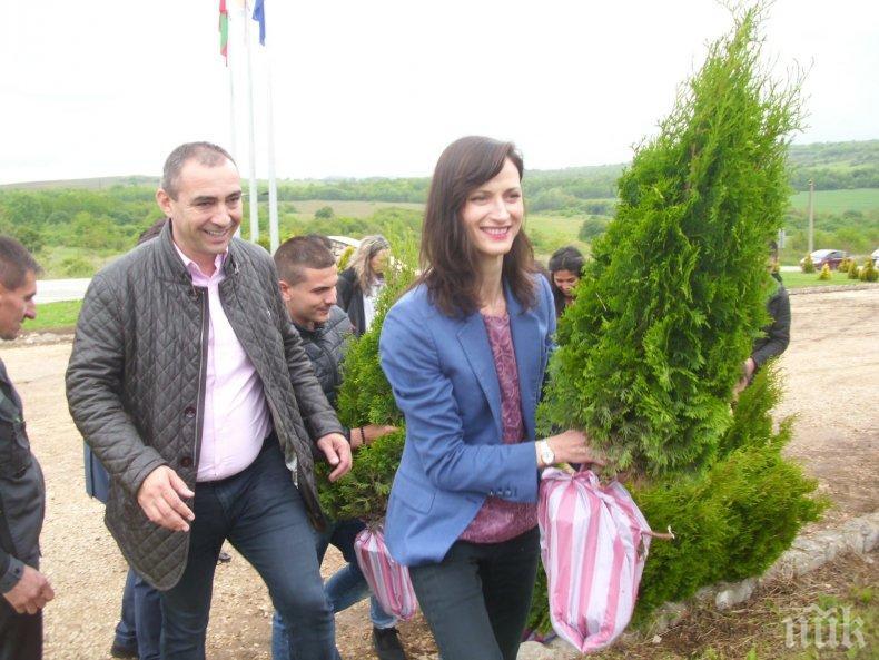 Мария Габриел в Луковит: Ще продължавам да работя за Европа на младите