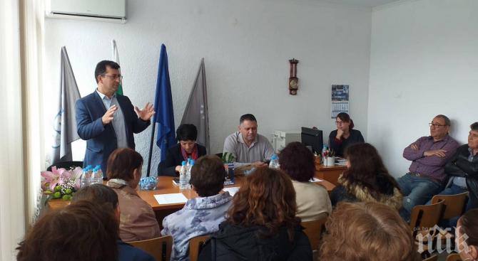 Асим Адемов разказа Европа на жителите в Завет и Ясеновец
