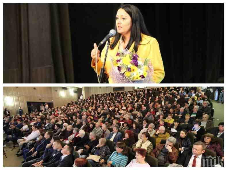 Лиляна Павлова в Добрич: Благодарение на европейската солидарност 1,5 млрд. лв. субсидии са предоставени в подкрепа на земеделието в региона