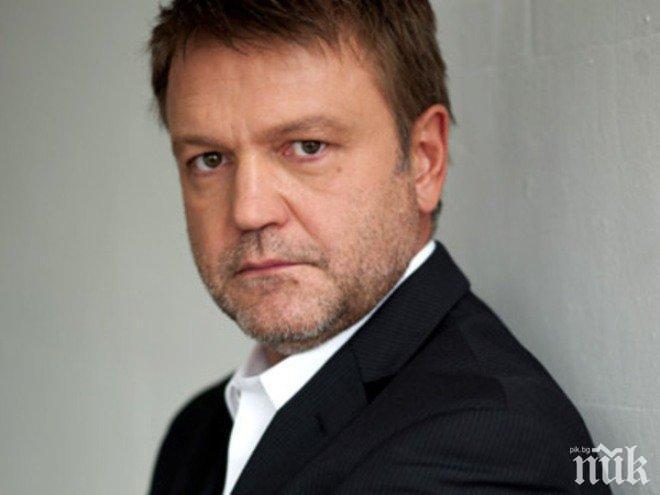 Актьорът Георги Стайков приет по спешност в болница в Бургас