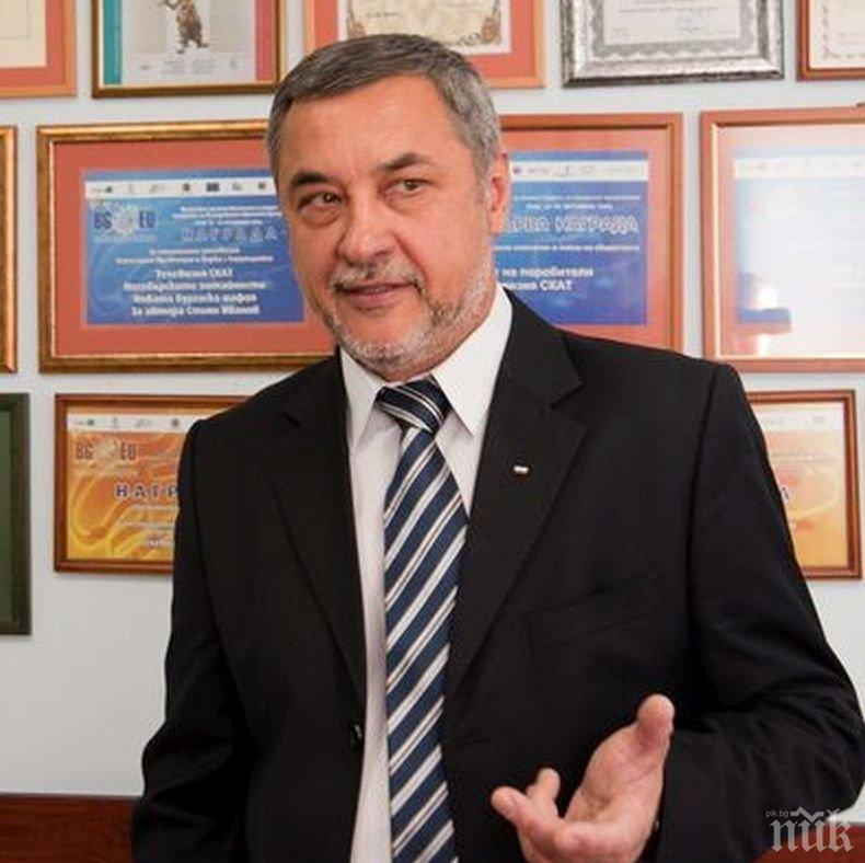 Валери Симеонов: Приемането на еврото ще повлияе на българския вложител – лихвите по кредитите ще бъдат намалени