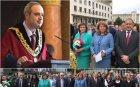 СКАНДАЛ: Румен Радев изхвърли академиците от шествието на 24 май - президентът смени преподавателите с Корнелия Нинова. Ректорът на Софийския с гневен протест срещу поругаването на празника