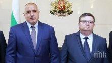 Борисов поряза Цацаров: Главният прокурор брани БСП!