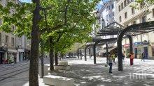 """СУПЕР НОВИНА: Площад """"Славейков"""" вече е отворен за пешеходци (СНИМКИ)"""