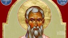ВЯРА: Честваме мъчен много заради светите икони йерарх