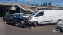 ОТ ПОСЛЕДНИТЕ МИНУТИ: Катастрофа затапи възлов път в Пловдив (СНИМКИ)