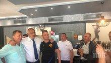 ПЪРВО В ПИК: Борисов се видя с хората в Кирково преди да посрещне Ципрас (СНИМКИ)