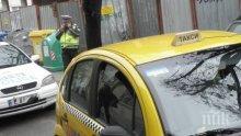 Полицията издирва мъж, ограбил таксиметров шофьор