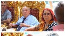 СКАНДАЛНО В ПИК: Цар Киро пръсна 50 бона за правнуче - фамилията яде на корем, пие и върти маанета на метри от Античния театър в Пловдив (УНИКАЛНИ СНИМКИ/ВИДЕО)