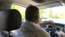 ПЪРВО В ПИК: Премиерът Борисов вози Иван Портних из Варна - оглеждат нови пътища, майки го молят да се снима с децата (ОБНОВЕНА)