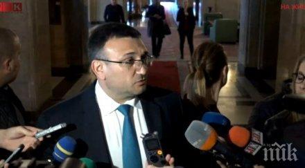 ИЗВЪНРЕДНО И ПЪРВО В ПИК: Младен Маринов влиза спешно в президентството - среща се не с Радев, а с Илияна Йотова (ОБНОВЕНА)