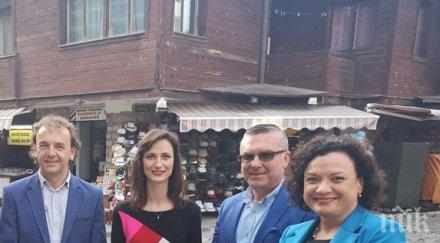 Мария Габриел в Несебър: Гласът на България трябва да се чува още по-силно в Европа (СНИМКИ)