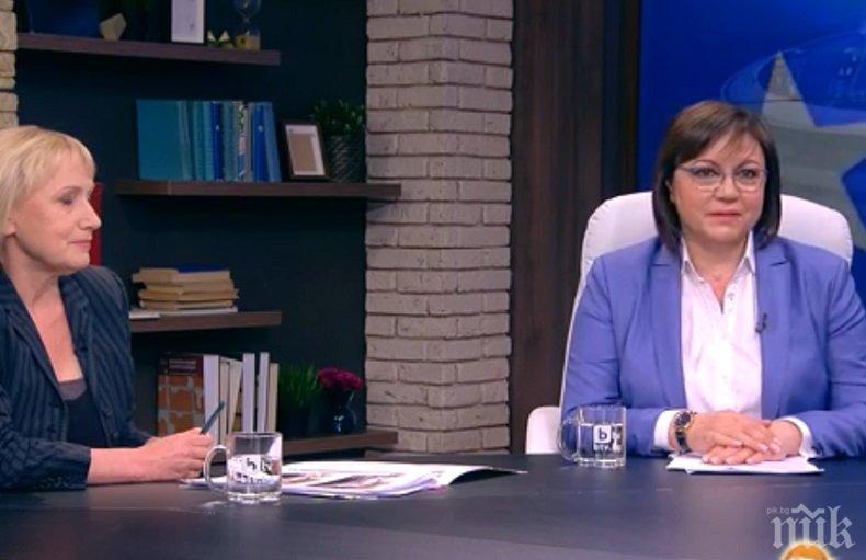 Трибунал срещу Борисов по Би Ти Ви - Нинова и Йончева бълват фалшиви новини пред Хекимян, той им задава удобни въпроси и опорки срещу властта (ОБНОВЕНА)