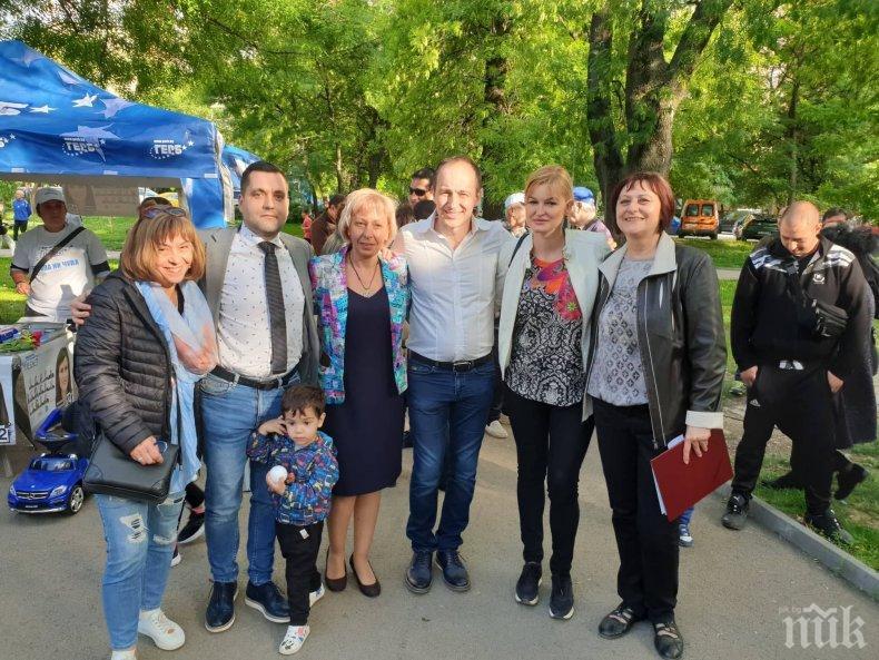 Андрей Ковачев: Важно е да гласуваме, за да продължи европейската солидарност да бъде част от нашия живот