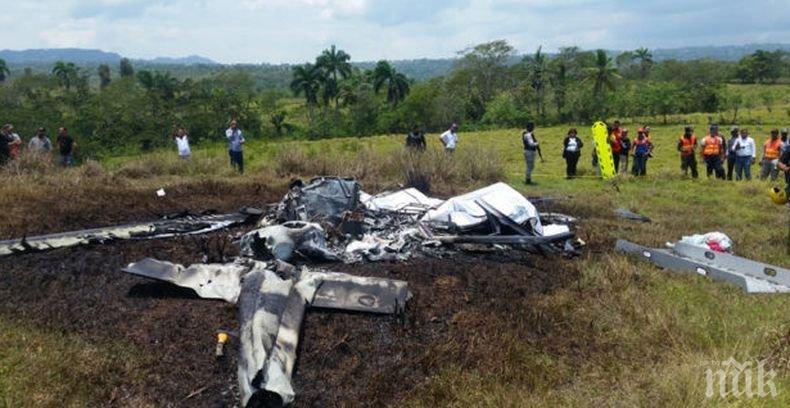 ТРАГЕДИЯ: Трима загинаха при падане на хеликоптер в Доминиканската република