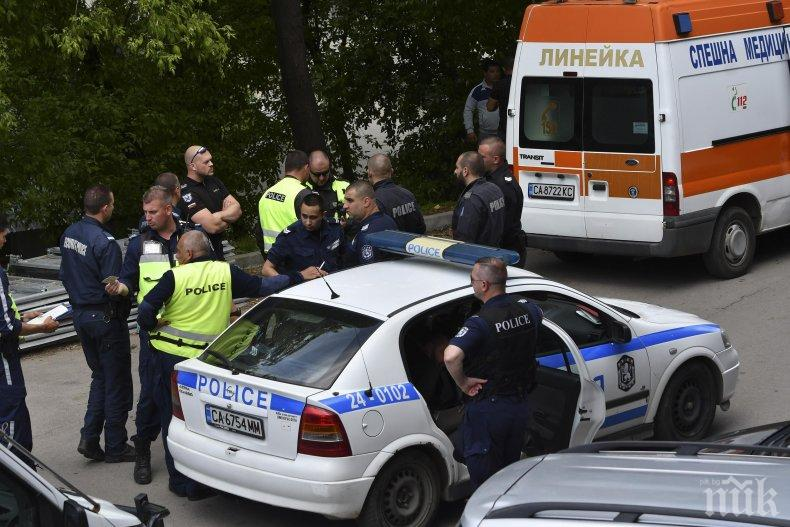 ЕКШЪН В СОФИЯ: Циганска свада в центъра на столицата завърши с ранен и арестуван