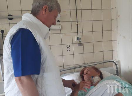 Ново лечение на инсулт в УМБАЛ Бургас върна пациентка към живота