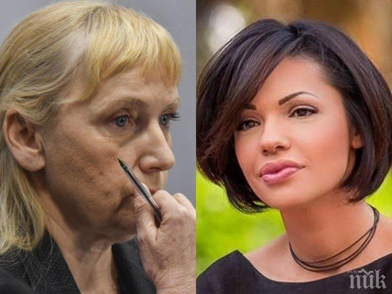 МИЛИЦИОНЕРЩИНА: Човек на Корнелия заплашвал журналистката Калина Паскалева след разкритията й за далаверите на Елена Йончева: Или ще мълчиш, или... (СНИМКА)