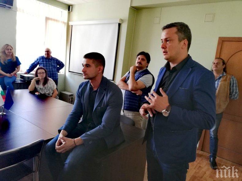Николай Диков, кандидат за евродепутат от листата на ГЕРБ: Посланието ни е точно и ясно – Европа работи за Стара Загора