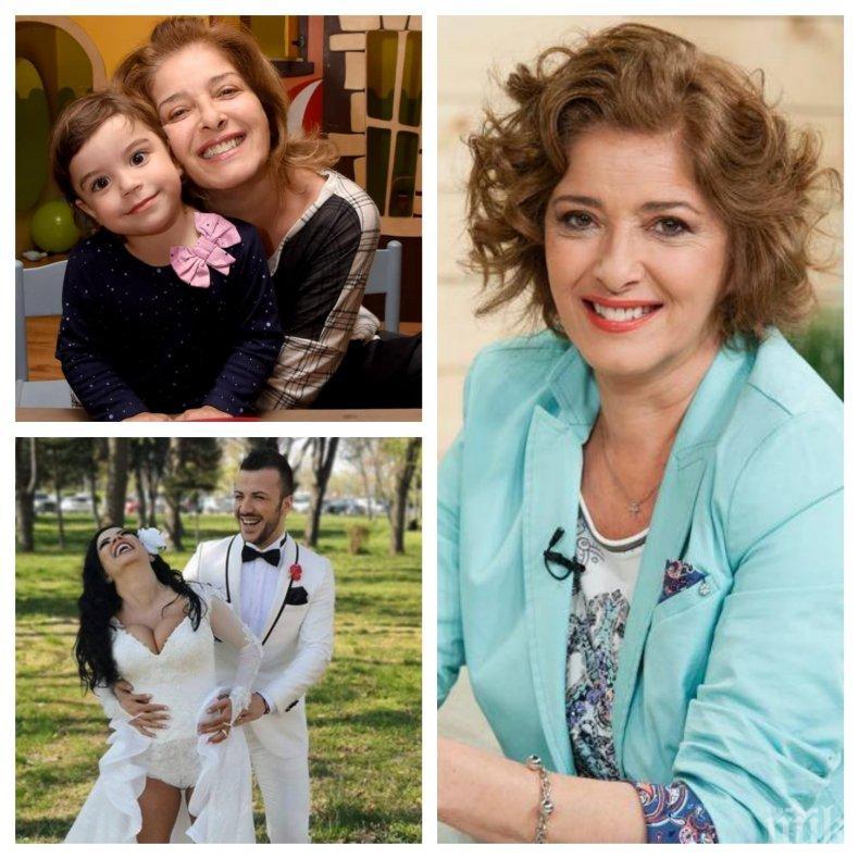 САМО НА 4, А ВЕЧЕ МАНИАЧКА: Внучката на Катерина Евро пристрастена към телефона си - малкото Кате лудо по изневярата на майка си (СНИМКА)