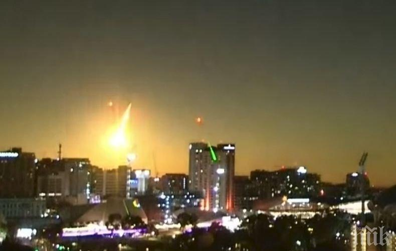 Изгарящ метеор беше заснет в Южна Австралия (ВИДЕО)