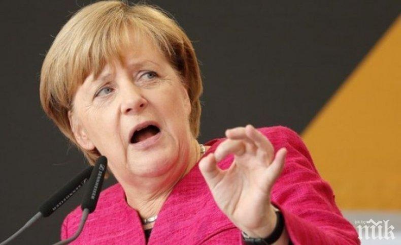 Ангела Меркел заяви, че се отнася с уважение към решението на Тереза Мей