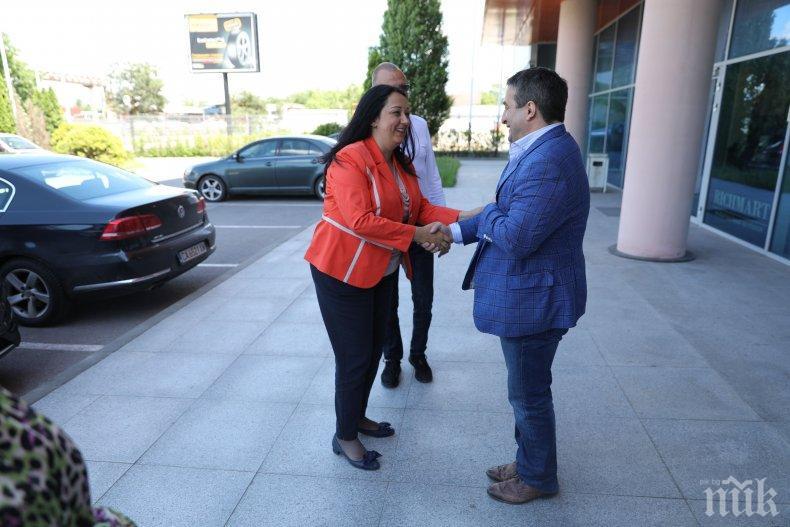Лиляна Павлова: Подкрепата за ГЕРБ е подкрепа за активно и компетентно участие на България в Европарламента