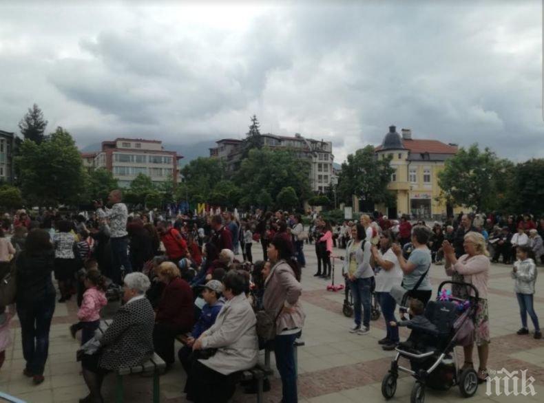 Зелените закриха предизборната си кампания в Благоевградска област