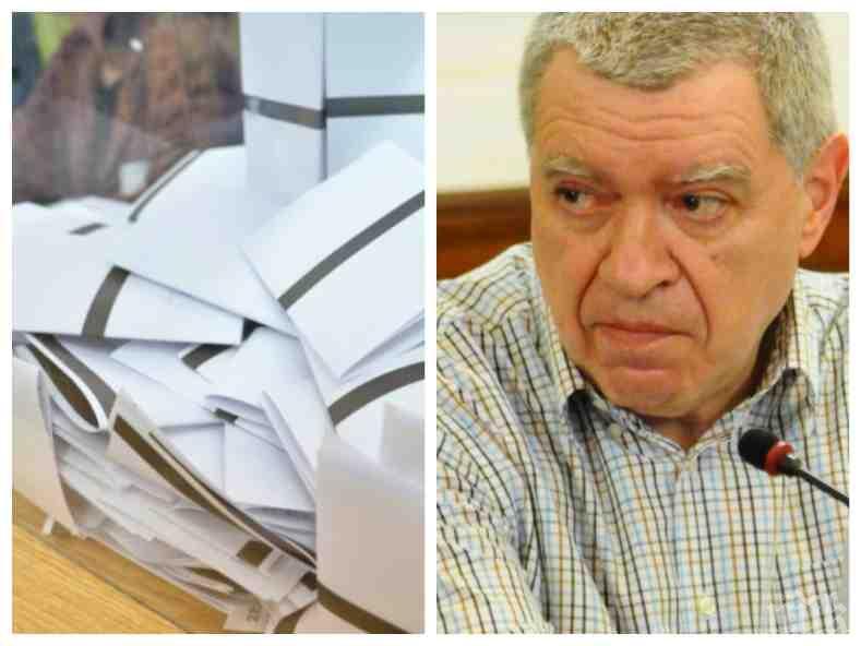 САМО В ПИК: Проф. Константинов с разкритие за партийните субсидии - ето защо един глас е 13,23 лв. вместо 11 лева