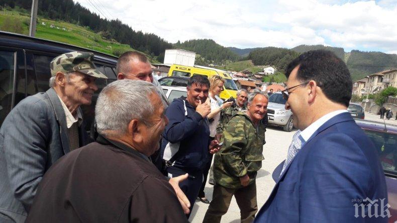 Асим Адемов в Борино: Истински толерантната партия в България е ГЕРБ