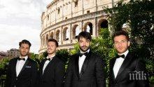 Четиримата италиански тенори стартират световното си турне във Варна