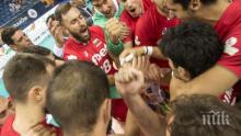 Волейболните национали победиха тима на Сърбия в Белград в контрола