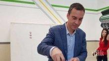 Кметът Димитър Николов: Гласувам за силен Бургас в Европа