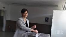 Даниела Дариткова: Гласувах за стабилна и просперираща България в обединена и сигурна Европа