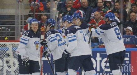 Отборът на Финландия е новият световен шампион по хокей на лед