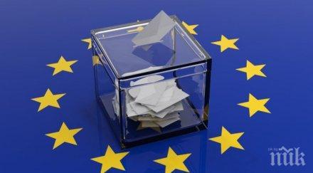 ПЪРВО В ПИК: ЦИК с последни данни за вота в страната за Европарламент: 30,76 % за ГЕРБ и 25,32% за БСП (ГРАФИКИ)