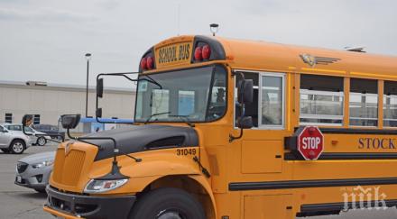 Пет деца и възпитател пострадаха при инцидент с училищен автобус в Мадрид
