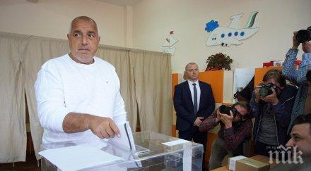 ПЪРВО В ПИК: Борисов с емоционални думи след победата на ГЕРБ