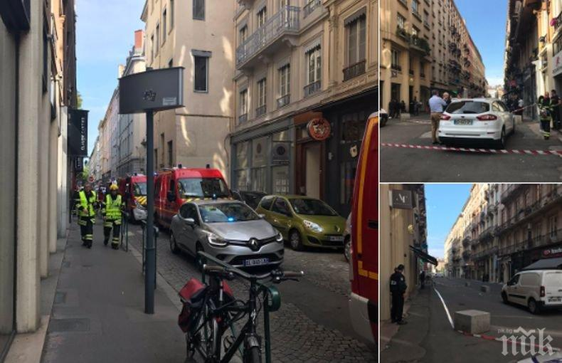 ОТ ПОСЛЕДНИТЕ МИНУТИ: Шестима са ранени при атаката в Лион, полицията издирва маскирания нападател