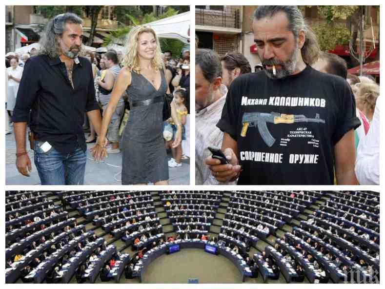 САМО В ПИК! Андрей Слабаков ексклузивно за мандата си в Брюксел - какви са амбициите му в Европарламента, тръгва ли с него Ернестина Шинова и спира ли цигарите?