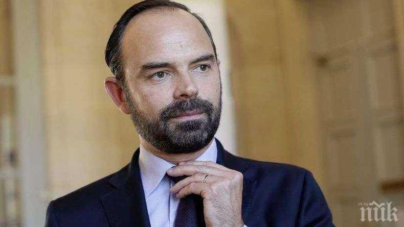 Премиерът на Франция: Приемам със смирение резултатите от евровота