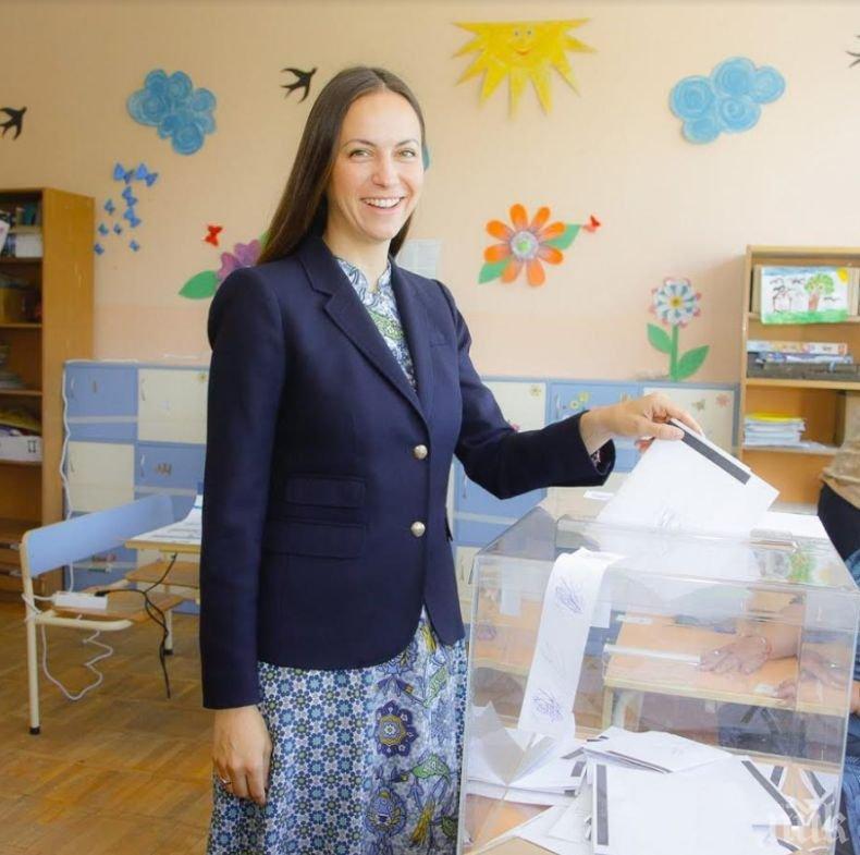 Ева Майдел: Гласувах за силна България в обединена Европа