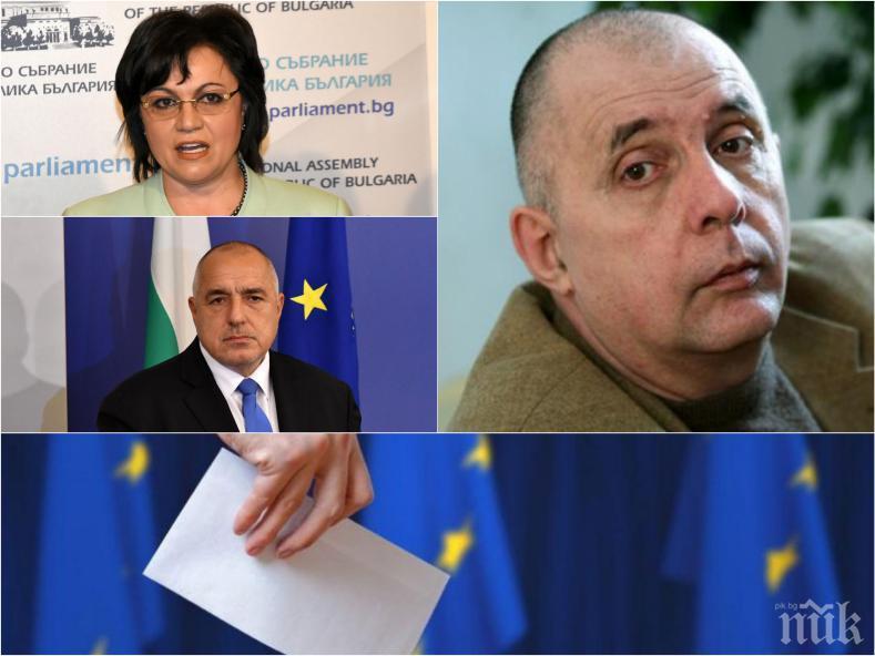 ПОД ЛУПА: Коритаров отчете ключовата роля на Борисов за победата на ГЕРБ и безизходицата в БСП