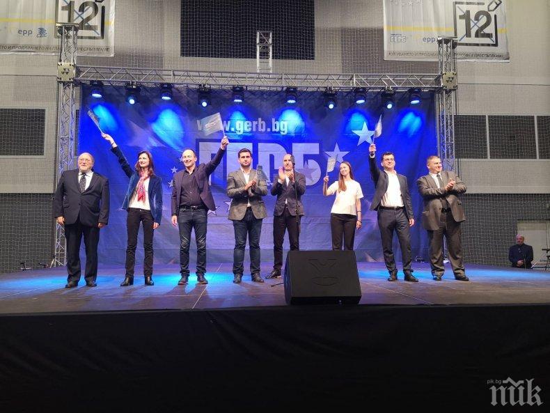 Първо в ПИК: Раздвижване в централата на победителите - Фандъкова и Томислав Дончев първи в щаба на ГЕРБ