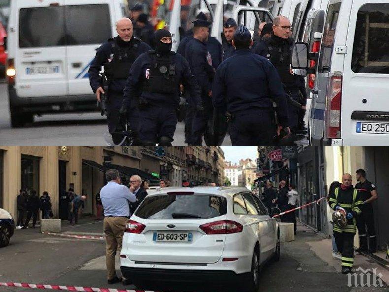 ИЗВЪНРЕДНО В ПИК: Екскплозия в Лион, има ранени! Разследват терористичен акт (НА ЖИВО/ОБНОВЕНА/СНИМКИ)