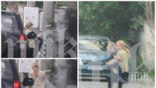 САМО В ПИК: Елена Йончева с двойна охрана след изборния провал на БСП - вижте къде изчезна обвиняемата евродепутатка (ПАПАРАШКИ СНИМКИ)