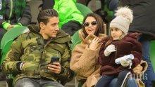 Национал гушна втора щерка - Мишо Александров показа бебето (СНИМКА)