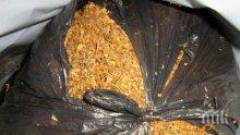 АКЦИЯ: Конфискуваха 300 кила насипен тютюн